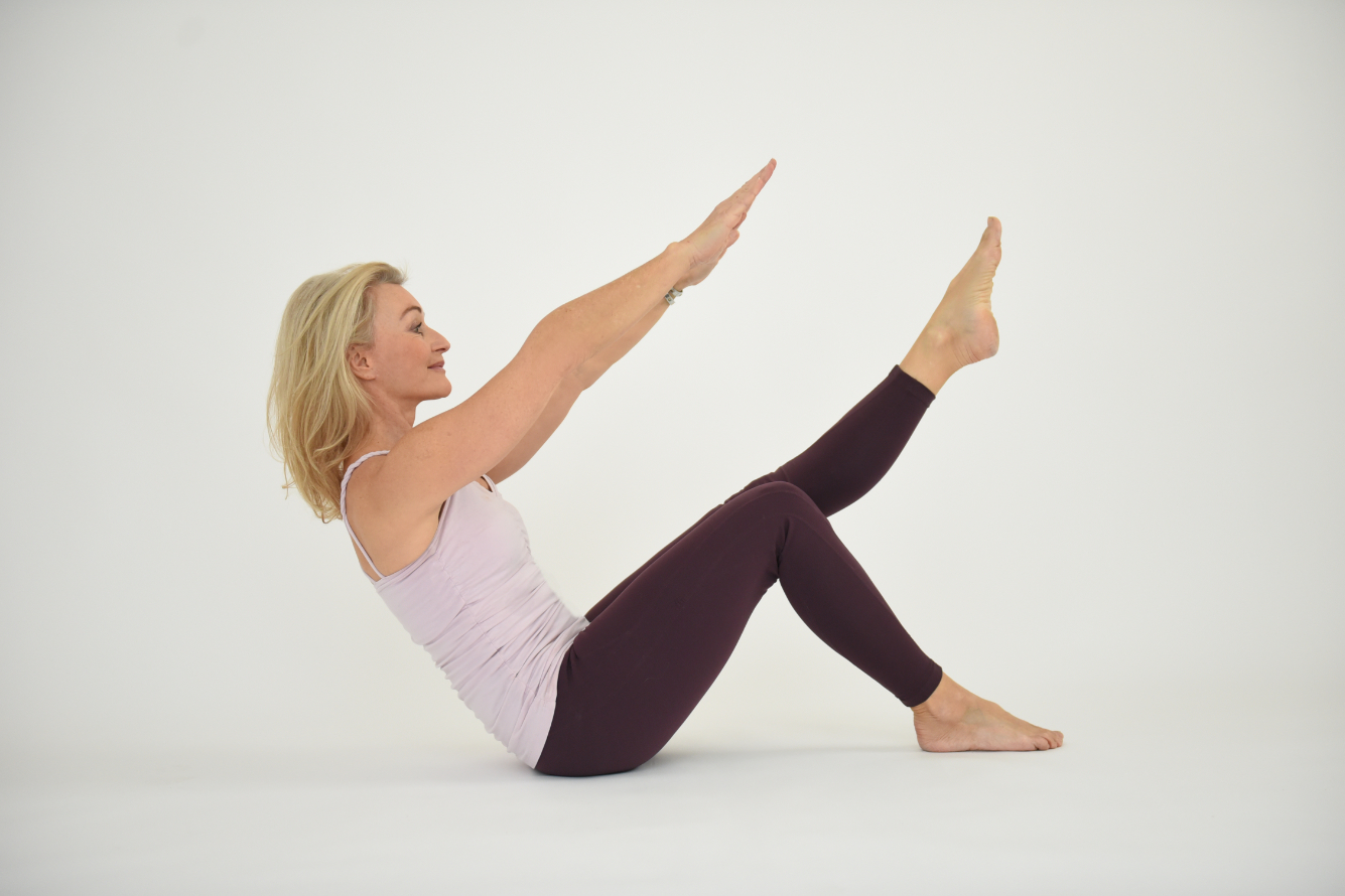 Pilates Flow   Pilates Yoga Video